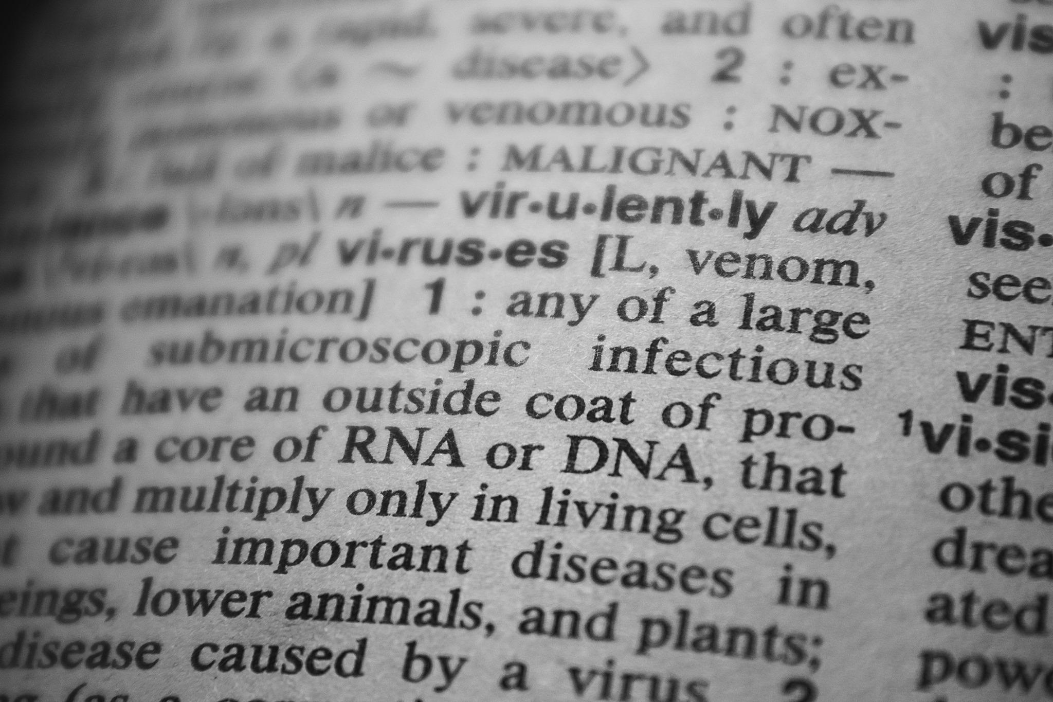 Auf dem Bild ist ein Textauszug zum Thema DNA beziehungsweise RNA aus einem Lexikon zu sehen.